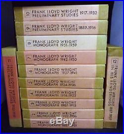 Frank Lloyd Wright / Monograph Edited And Photographed By Yukio Futagawa 1st