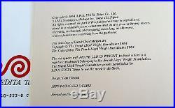 Frank Lloyd Wright Monograph Set / Volumes 1-12 Complete / 1st Edition HC