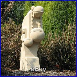 Frank Lloyd Wright NAKOMA Sandstone 24 Outdoor Statue Sculpture