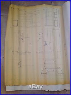 Frank lloyd wright original blueprintshex houseinclude blueprint frank lloyd wright original blueprintshex houseinclude blueprint for furniture malvernweather Choice Image