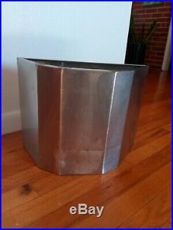 Frank Lloyd Wright PRICE TOWER Wastepaper Basket Mid Century Modern Bartlesville