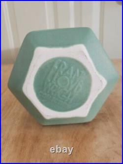 Frank Lloyd Wright Pinnacle Vase Haeger Pottery Green