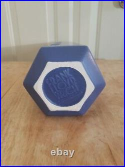 Frank Lloyd Wright Pinnacle Vase Haeger Pottery Teco Blue