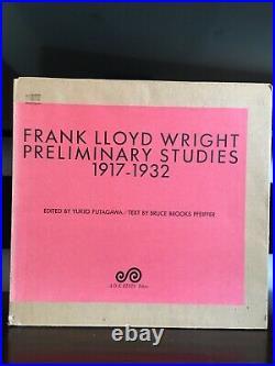 Frank Lloyd Wright Preliminary Studies 1917-1932