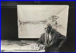 Frank Lloyd Wright Prominent American Architect Signed Check Authentic''Rare'
