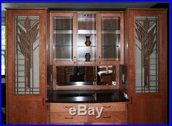 Frank Lloyd Wright ROBIE House Window Design WALL Element 31.5h CHOICE