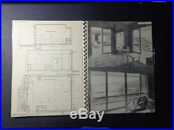 Frank Lloyd Wright Rare Antonin Raymond Architectural Details