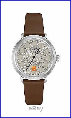 Frank Lloyd Wright S. C. Johnson Ladies Watch Silver