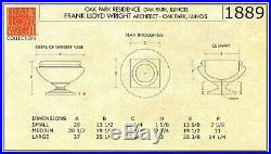 Frank Lloyd Wright Sandstone Oak Park Residence Vase Outdoor Garden Planter
