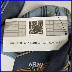 Frank Lloyd Wright Scarf Silk Susan Lawrence Dana Springfield IL Sumac MOMA'99