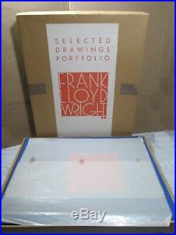 Frank Lloyd Wright Selected Drawings Portfolio, 1979 Vol 2, Orig Box A410/500
