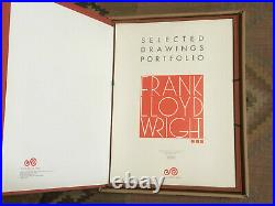 Frank Lloyd Wright Selected Drawings Portfolio, 1982 Vol 3, Orig Box A159/500