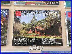 Frank Lloyd Wright Selected Houses Full Set, 1-8