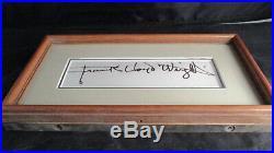 Frank Lloyd Wright Signature