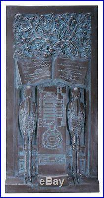 Frank Lloyd Wright Stork Panel Plaque Design Wall Art Decoration