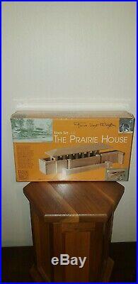 Frank Lloyd Wright T. C. Timber Block Set #50-7300 Prairie House. NIB. Rare