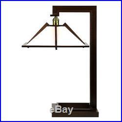 Frank Lloyd Wright Taliesin 1 Table Lamp Walnut Wood