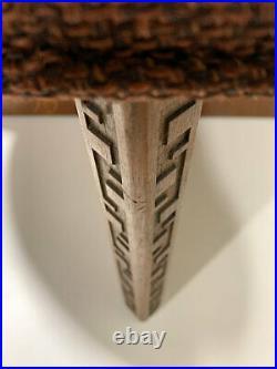 Frank Lloyd Wright Taliesin Ottoman by Heritage Henredon