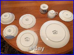 frank lloyd wright tiffany cabaret dinnerware for 12. Black Bedroom Furniture Sets. Home Design Ideas