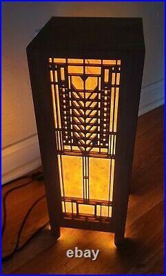 Frank Lloyd Wright Tree Of Life Lightbox Light Lamp