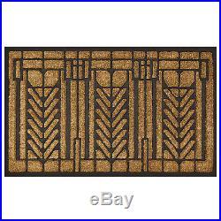 Frank Lloyd Wright Tree of Life Design Coir Fiber 36 x 22 Doormat