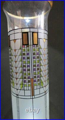 Frank Lloyd Wright Tree of Life Glass Vase Toscana Glass Egiziz Omaggio A