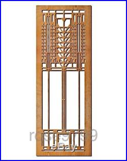 Frank Lloyd Wright Tree of Life Wood Art Element Wall Panel Cherry NIB