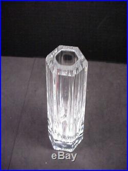 Frank Lloyd Wright Vase Tiffany & Co Multi Sided Crystal 8.25