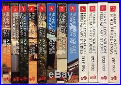 Frank Lloyd Wright Yukio Futagawa A. D. A. Edita 12 Volumi 1984 B21-53