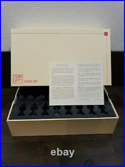 Frank Lloyd Wright designed Midway Gardens Chess Set 32 pcs no board -Never used