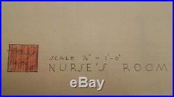 Frank Lloyd Wright original drawing