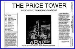 Frank Lloyd Wright's iconic Price Tower, groundbreaking skyscraper design
