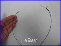 Guggenheim Frank Lloyd Wright Restoration Rocks 2 Pc Sterling Chocker Necklace
