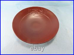 HTF HEATH Ceramic Shallow Salad Bowl by Lockhart inspired by Frank Lloyd Wright