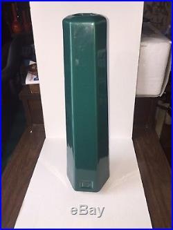 Haeger Studio Art Pottery Frank Lloyd Wright / Arts & Crafts Inspired Green Vase