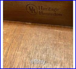 Heritage Henredon Frank Lloyd Wright Style Mid Century Dresser Chest Drawers