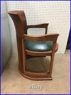 John Widdicomb Attr Frank Lloyd Wright Barrel Back Chair