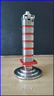 Johnson's wax lighter tower, Frank Lloyd Wright