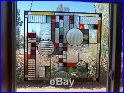 Just Created Frank Lloyd Wright Style of ART DECO measures 18 by 24 Super Nice
