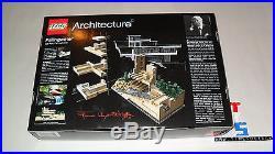 LEGO 21005 Architecture Fallingwater Frank Lloyd Wright NEW MISB FREE SHIPPING