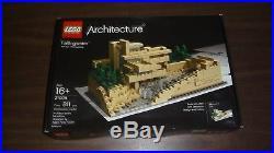 LEGO 21005 Architecture Fallingwater Frank Lloyd Wright NEW Sealed Box FREE SHIP
