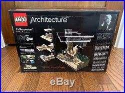 LEGO 21005 Frank Lloyd Wright Architecture Fallingwater NEW & SEALED