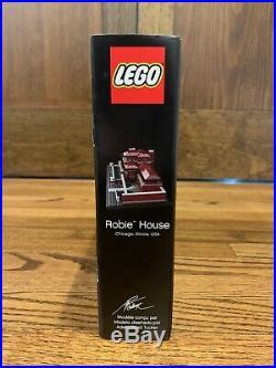 LEGO 21010 Architecture FRANK LLOYD WRIGHT Robie House New & Sealed