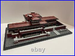 LEGO 21010 Architecture Frank Lloyd Wright Robie House 100% Complete No Manual
