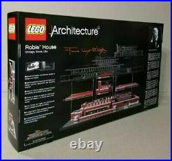 LEGO 21010 Architecture Robie House by Frank Lloyd Wright. BRAND NEW. Rare