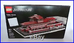 LEGO 21010 REAL PHOTO Architecture Robie House Frank Lloyd Wright NEW SEALED BOX