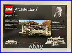 LEGO 21017 Architecture Imperial Hotel Frank Lloyd Wright Japan Landmark Retired