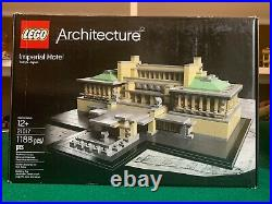 LEGO 21017 Architecture Imperial Hotel Frank Lloyd Wright Tokyo Japan Landmark