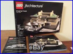 LEGO Architect 21017 Imperial Hotel Tokyo Japan Frank Lloyd Wright, 2013