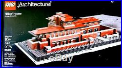 LEGO Architects Series, Frank Lloyd Wright, #21010 Robie House, New, Boxed